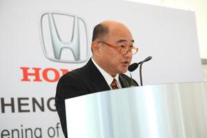Mr. Johnnie Wong, Managing Director of Ban Lee Heng Motor Sdn Bhd