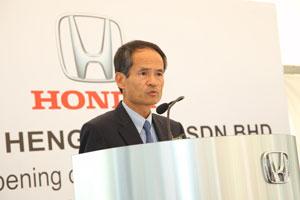 Mr. Toru Takahashi, Managing Director and CEO of Honda Malaysia