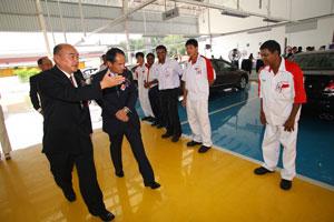 Honda's First 3S Centre