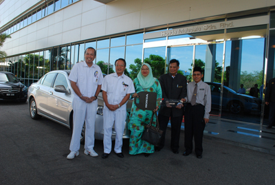 Honda Handover Ceremony to ADTEC Melaka