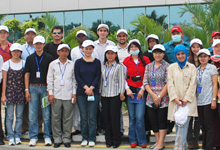 Group photo of the 15 Participants, EiMAS representatives and Honda Manufacturing Management.