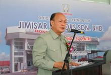 Dato' Jacob Dungau Sagan, Deputy Minister of International Trade & Industry.