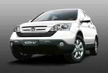 Honda's premium sedan-driving SUV in a new sophisticated colour - Taffeta White.