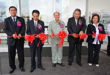 Left - Right: En Azman bin Idris, President & COO of HMSB, Mr Toru Takahashi, Dato' Jacob Dungau Sagan, Dato' Ismail Salleh and Datin Wong Abayah Ilam, Director of Jimisar Motors Sdn Bhd at the official launch.