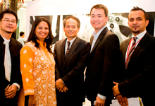 (L-R) Ar. Lee Chor Wah, Ms. Sharmini Hensen, Mr. Toru Takahashi, Mr. Scott Lim and Mr. Akkbar Danial, Marketing Manager, Honda Malaysia Sdn. Bhd.