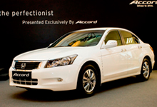 The special showcase of Accord 2.0 VTi-L in Taffeta White, a new colour recently added to 2.0L and 2.4L range.