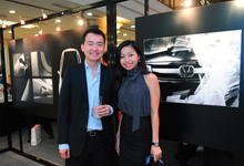 (L-R) Mr. Scott Lim together with Ms. Monique Low, Head of PR, Honda Malaysia Sdn. Bhd.