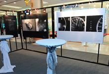 One of the exhibition panels showcasing the different aspects of Accord.