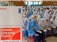 Student Q&A session during the HDF talk at SMK Darul Ehsan.