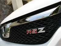 Stream RSZ front grille.