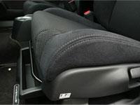 Passenger seat under tray.