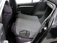Foldable Rear Seat with 60/40 Split