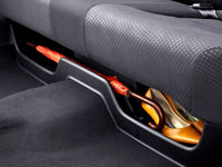 Rear Seat Under Tray