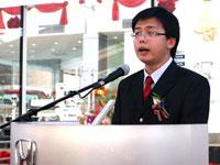 Mr. Mak Kam Hong, Managing Director of Tian Siang Auto Care Sdn Bhd.