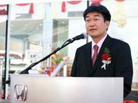 Mr Atsushi Fujimoto, MD & CEO of HMSB.