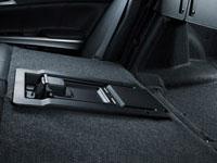 Fold-down rear seat