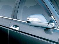 Door Visor - Sleek Aerodynamic design with minimal wind noise
