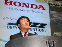 Mr. Atsushi Fujimoto, Managing Director & Chief Executive Officer of Honda Malaysia Sdn Bhd.