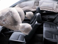 All New Honda Accord Advanced-6 Airbag System