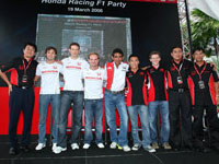 Two teams with Honda Malaysia's Management