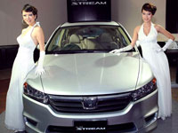 Brand Ambassadors with the Honda All-New Stream.