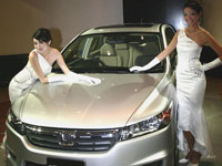Brand Ambassadors with the All-New Honda Stream.