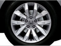 "The redesigned 17"" alloy rims in the New Civic 2.0L."