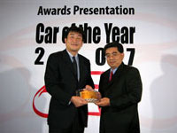Honda CR-V Wins SUV of the Year in the NST - Maybank Car of the Year 2007 Award