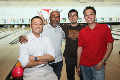 Media Bonding Bowling Competition