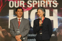 Dealers of the year owners, Mr. Ignatius Chew and Ms. Florence Chew