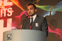 Marketing Department Manager, Mr. Akhbar Danial