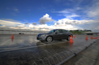 Accord 2.4 on the Wet Track
