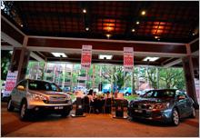 Honda CR-V and Accord showcase at Awana Genting Hotel for the Awana Genting Trailblazer Run 2009.