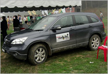 CR-V, the ideal vehicle to complement the tough and challenging race of Awana Genting Trailblazer Run 2009.