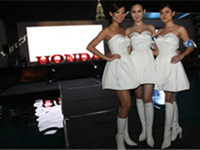 The Brand Ambassador's for Honda Media Gathering 2009.