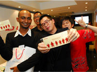 Left - Right: Surin Raj, Ellfian, Melvin Tang and Ben Liew.