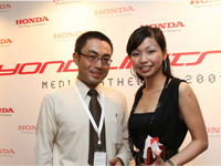 Left - Right: Keisuke Iwata and Monique Low.