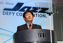 Mr Fujimoto told customers during his speech that this was the first time that a Honda car was launched via a fashion show in Malaysia.