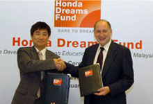 Honda Urges Malaysian Youths to Believe in The Power of Dreams