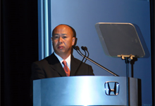 Mr. Satoru Azumi - Chief Engineer and Assistant Large Project Leader of Honda Ramp;&D Co. Ltd, Automobile R&D Center.
