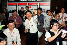 Honda Fetes Media In Appreciation of Their Support in 2007
