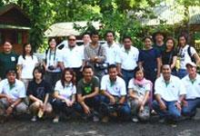 Group Photo taken at Borneo Rainforest Lodge