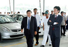Opening of Pre-Delivery Inspection Centre